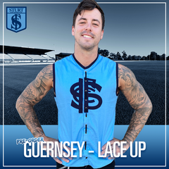 Lace Up Guernsey