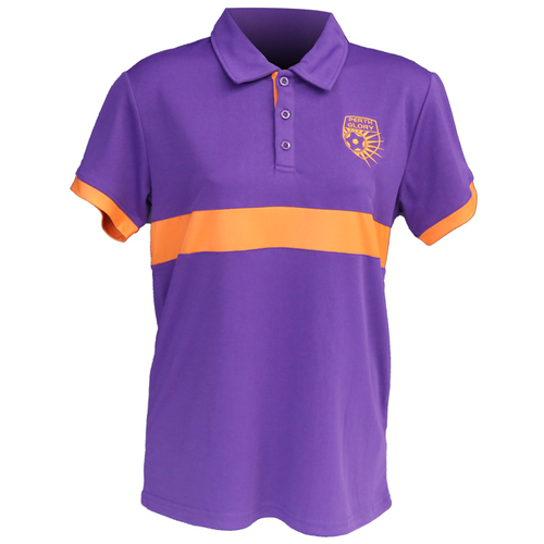 Polo - Ladies (Purple/Orange)