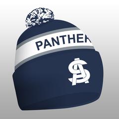 Panthers Pom Beanie