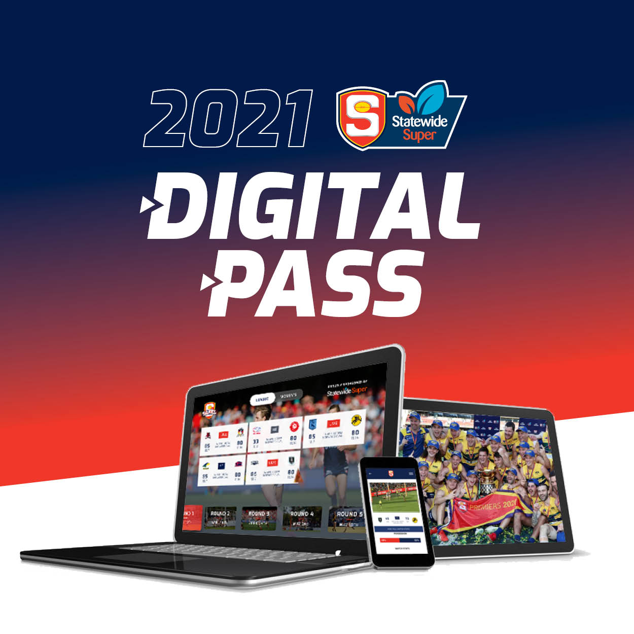 2021 Statewide Super League Season Digital Pass