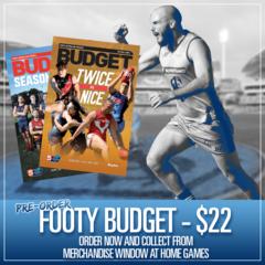 Pre Order: Footy Budget