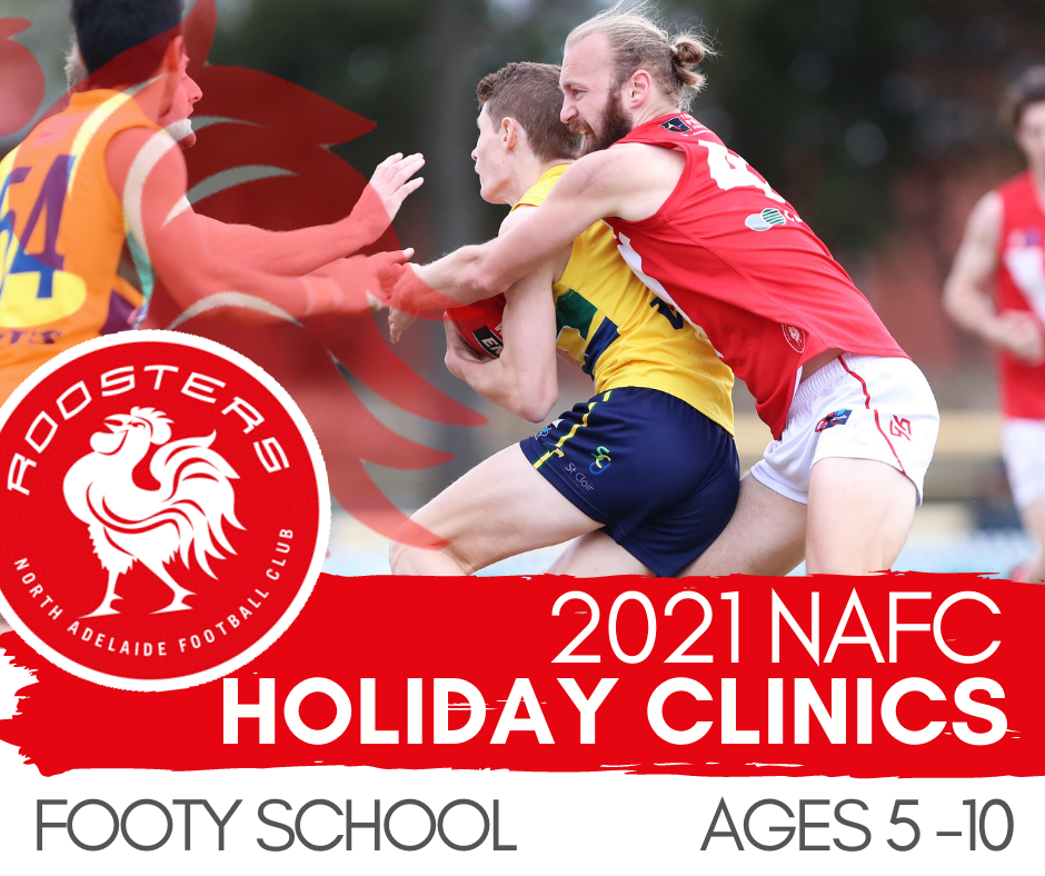 2021 TERM 2 Holiday Clinic - FOOTY SCHOOL | Ages 5-10
