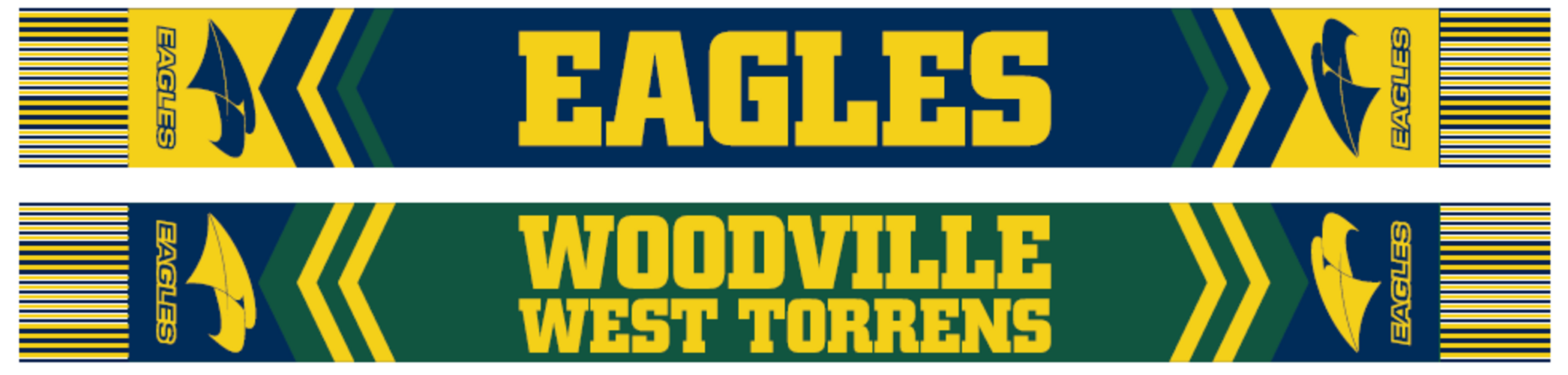 Eagles Double Sided Scarf