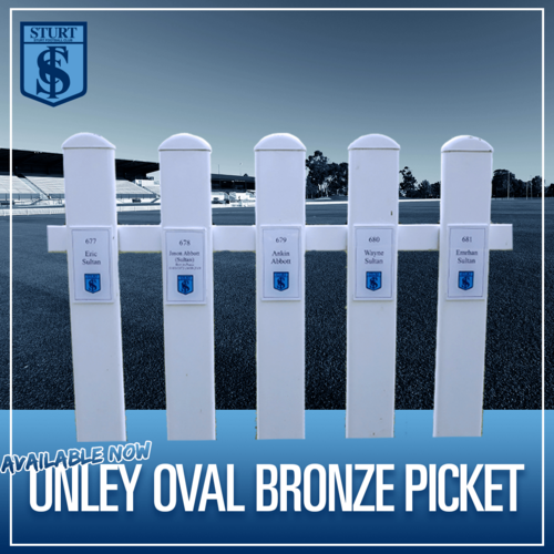 Unley Oval Bronze Picket