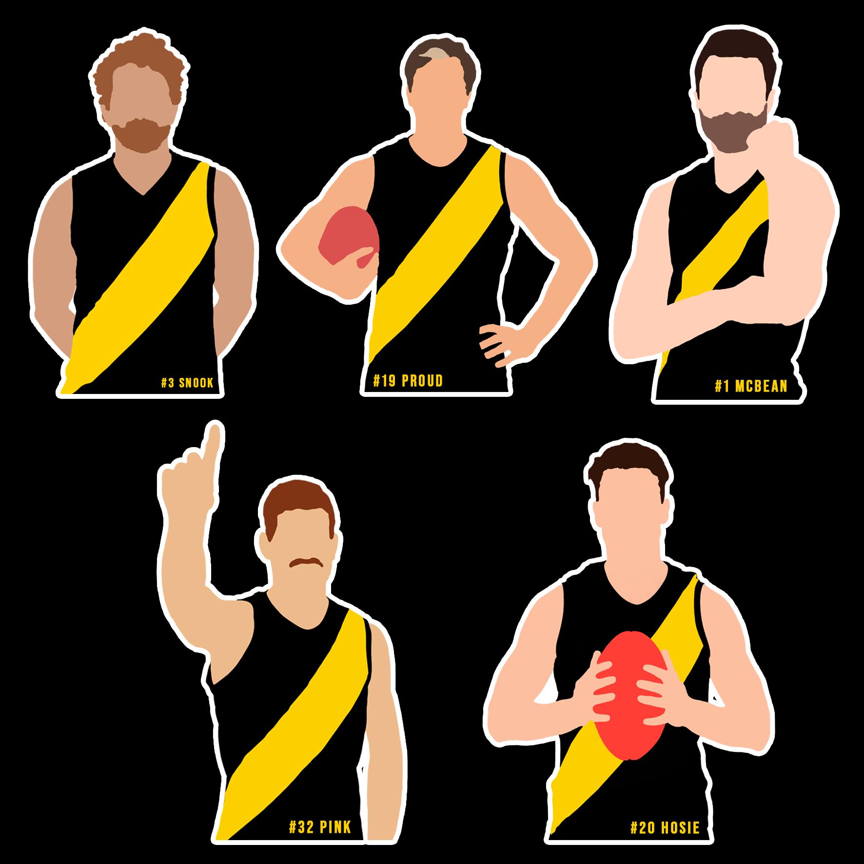 2021 Player Sticker Pack 1