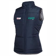 Vixens Puffer Vest - Ladies
