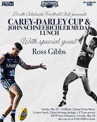 Carey-Darley Cup & Schneebichler Medal Lunch