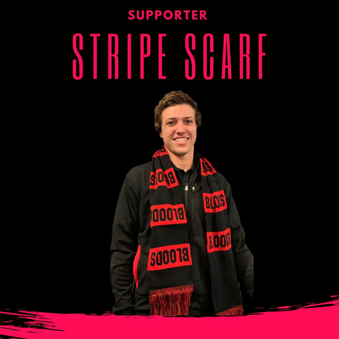 Supporter Stripe Scarf