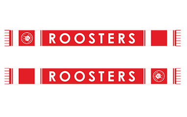2021 Roosters Scarf