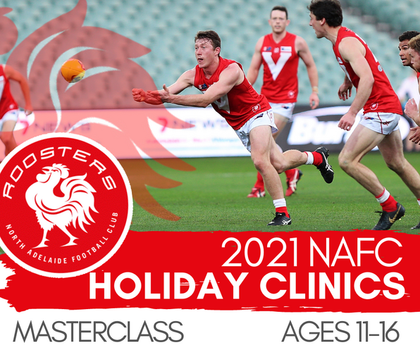 2021 TERM 2 Holiday Clinic - MASTERCLASS | Ages 11-16