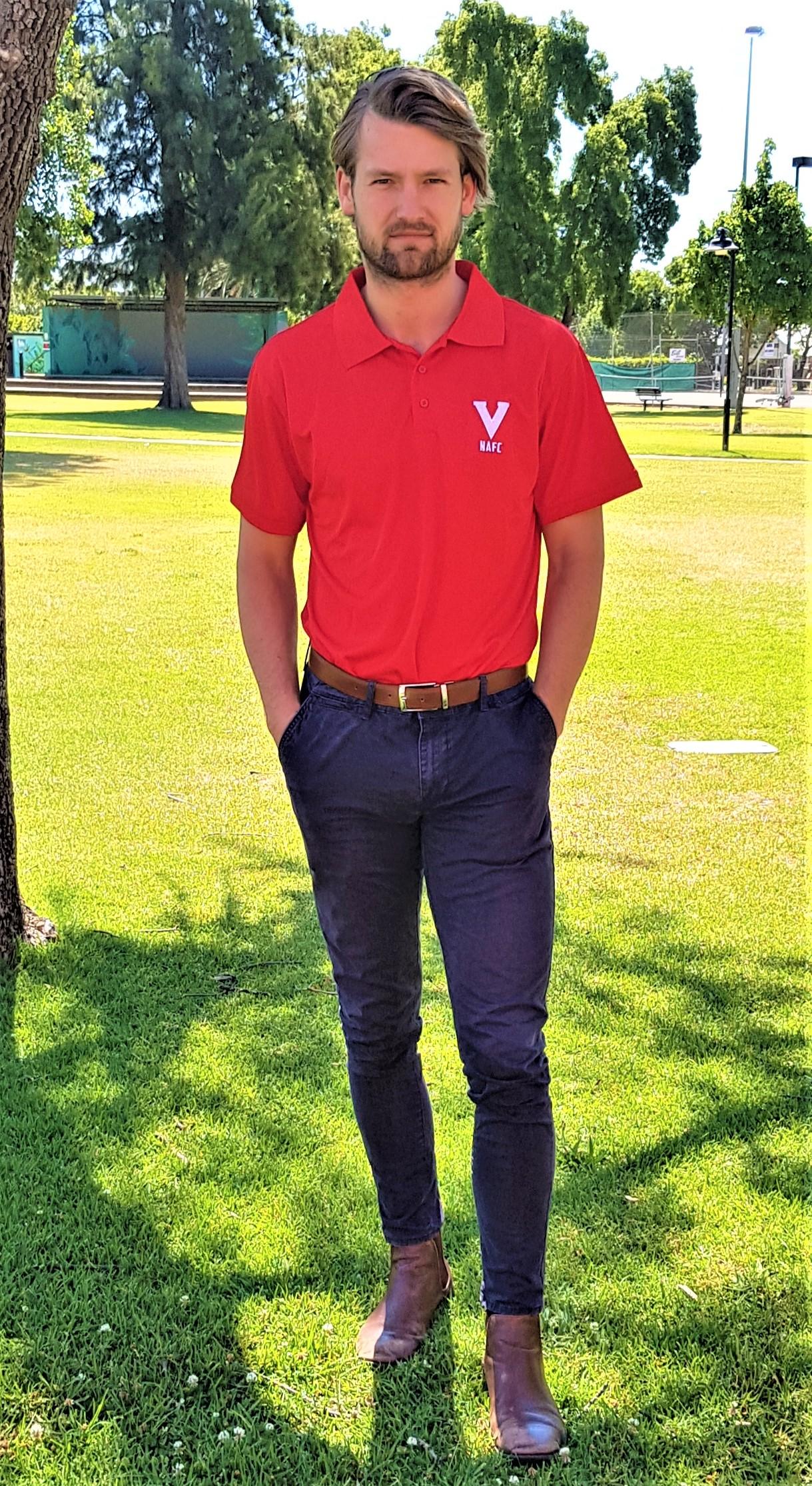Red V Polo