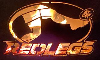 REDLEGS - FORTIS IN PROCELLA FIREPIT