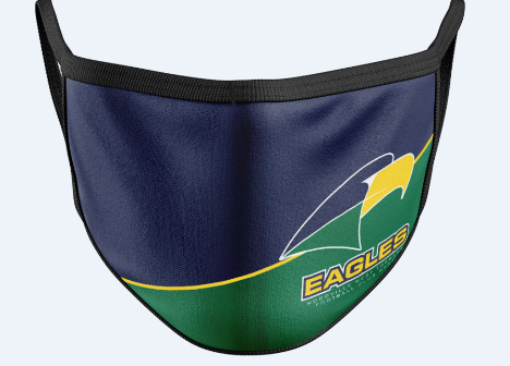 Eagles Adult cloth face mask