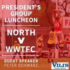 President's Group Luncheon - Round 17 v WWTFC |  VP & PG Tickets