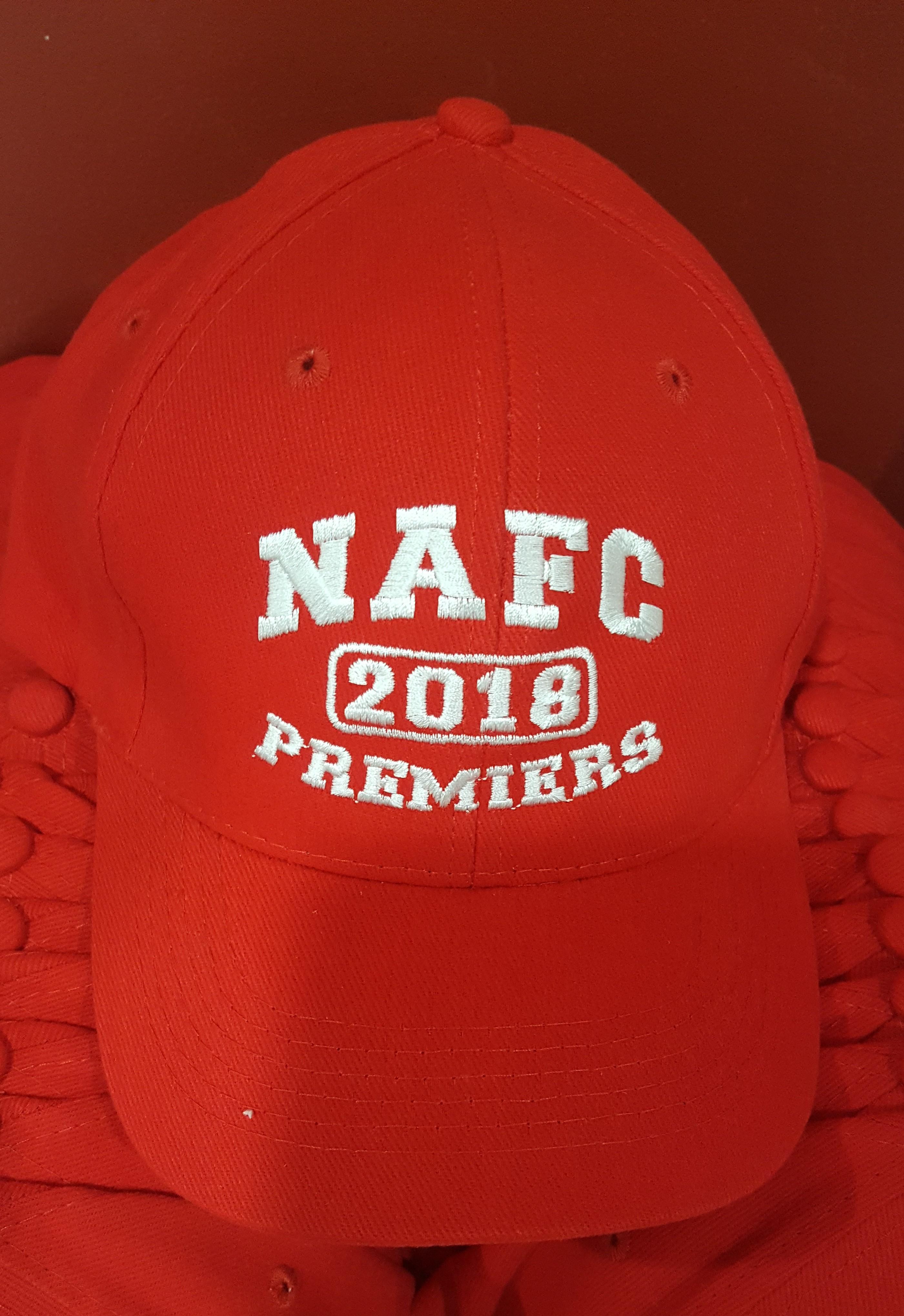 2018 Premiership cap