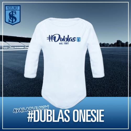 #Dublas Onesie - Blue Long Sleeve