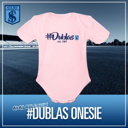 #Dublas Onesie - Pink Short Sleeve