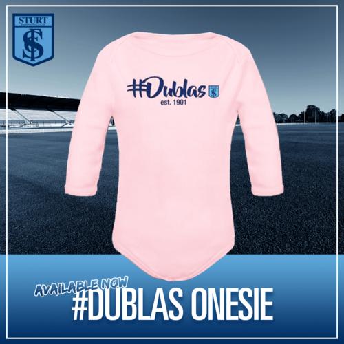 #Dublas Onesie - Pink Long Sleeve