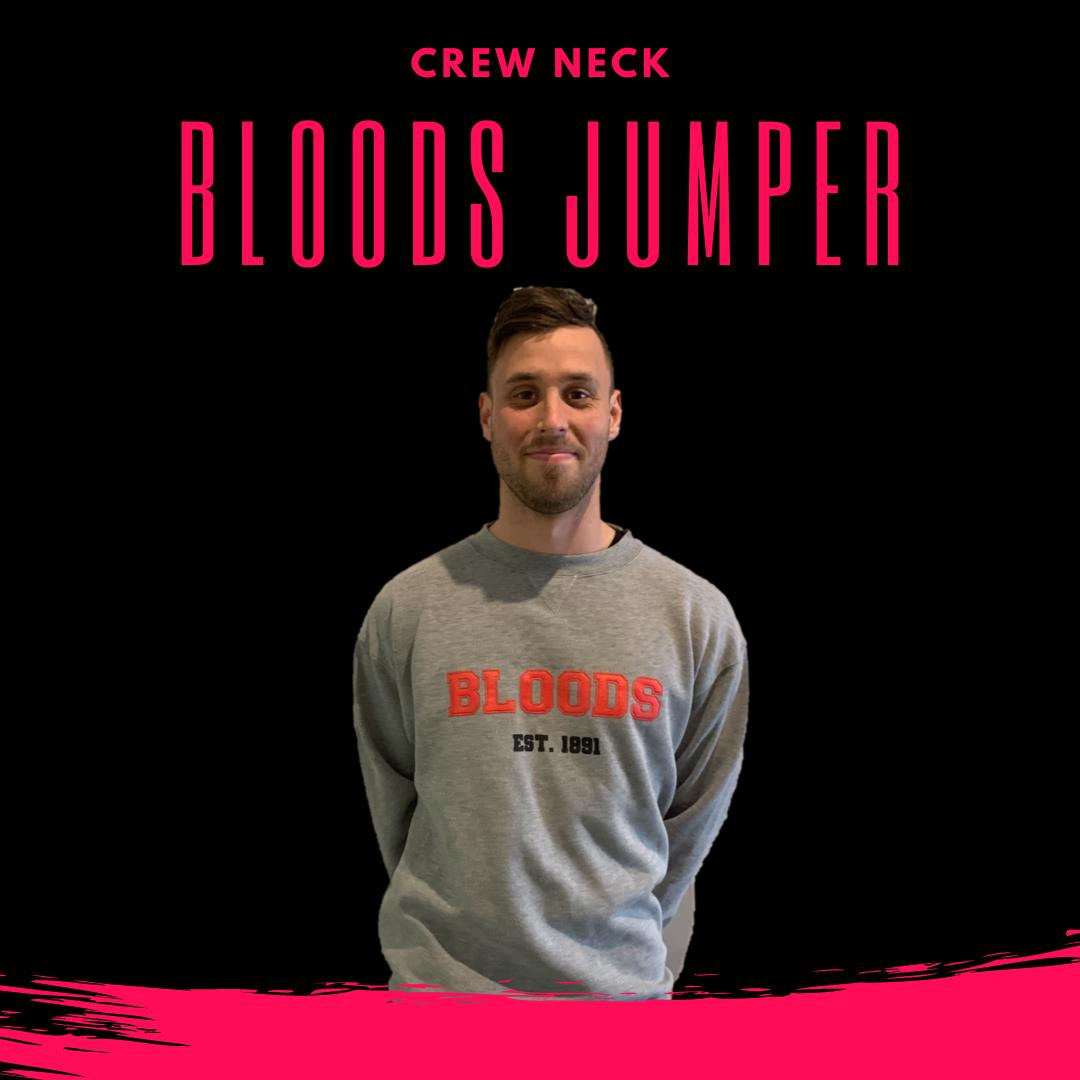 Bloods Crew Neck Light Grey