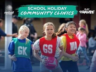 Netball Victoria Community Clinic - Wonthaggi, Monday 27th September (10am-12pm)