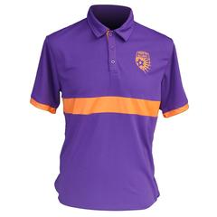 Polo - Purple/Orange