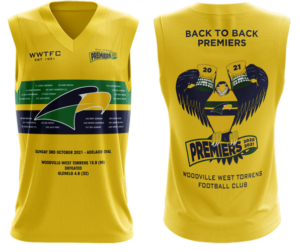 2021 Premiership Guernsey (Kids - pre-order now for late November delivery)