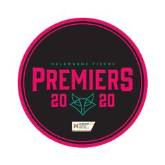 2020 Vixens Premiership Badge
