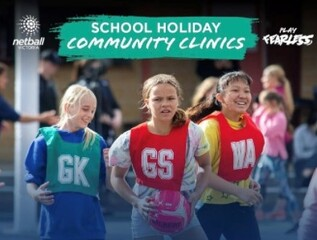 Netball Victoria Community Clinic - Lucknow, Friday 1st October (10am-12pm)