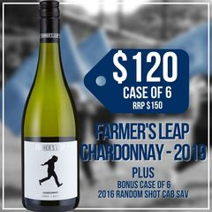 Wine - Farmer's Leap Chardonnay (x6)