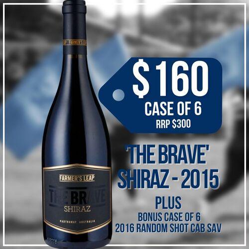 Wine - The Brave (x6)