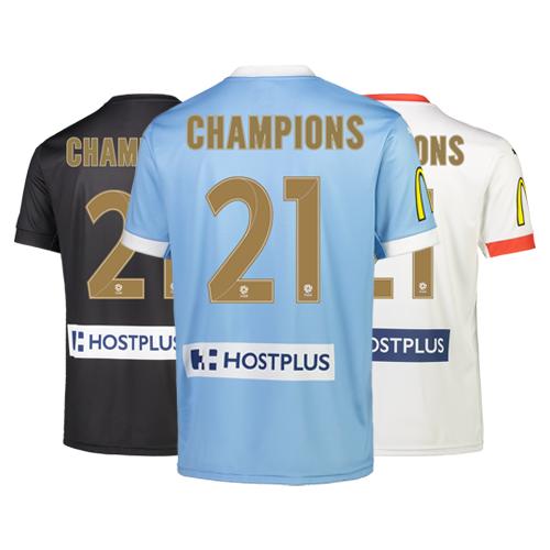 ADD 'CHAMPIONS 21' - JERSEY <B><U>NOT</U></B> INCLUDED
