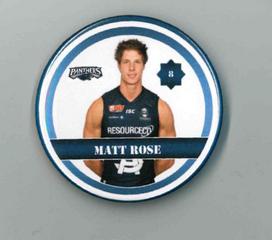 Matt Rose Player Badge