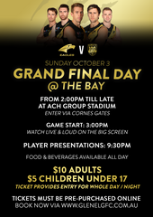 2021 Grand Final Day @ The Bay (Adult)