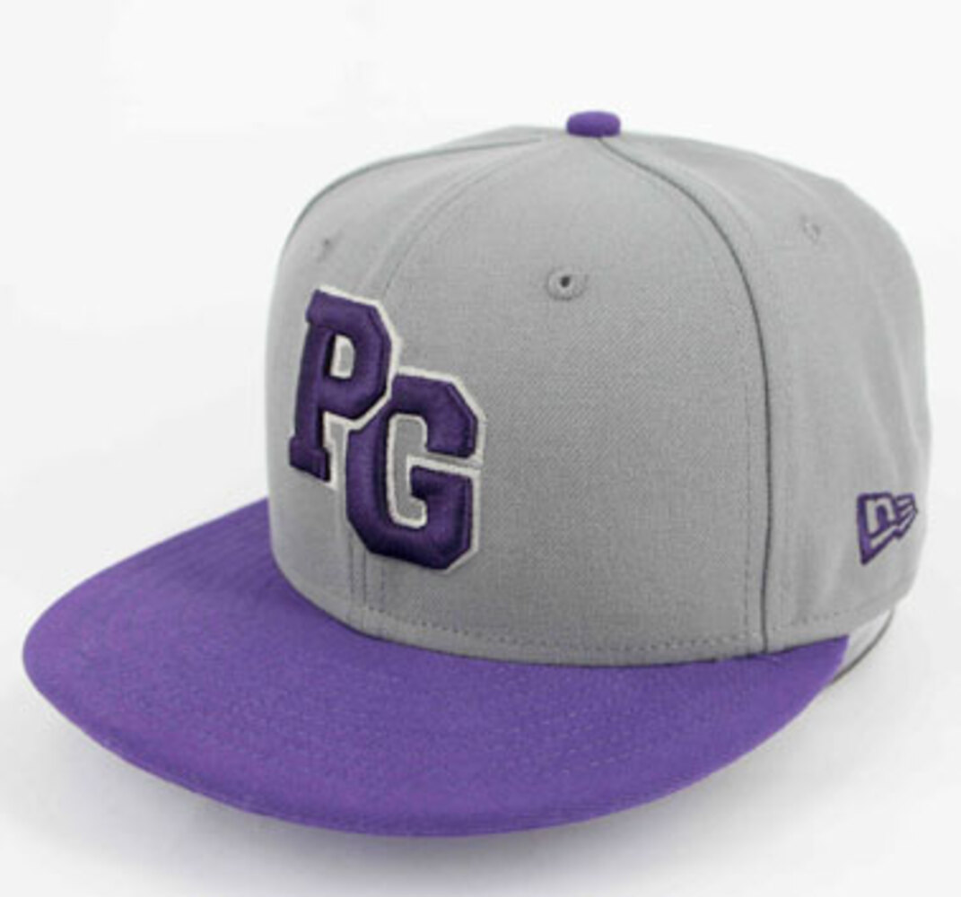 NEW ERA 59FIFTY Fitted Cap - Grey/Purple