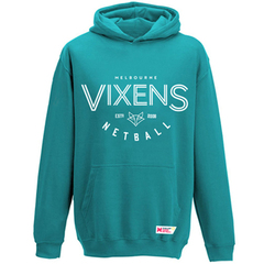 Vixens 2020 Supporter Hoodie (Teal) - Adults