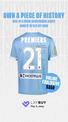 2020/21 TEAM SIGNED PREMIERS JERSEY